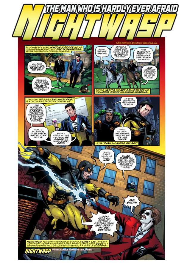 Nightwasp Preview Page