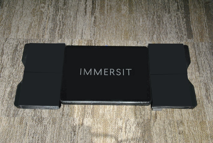 Immersit current prototype - functionality over looks!
