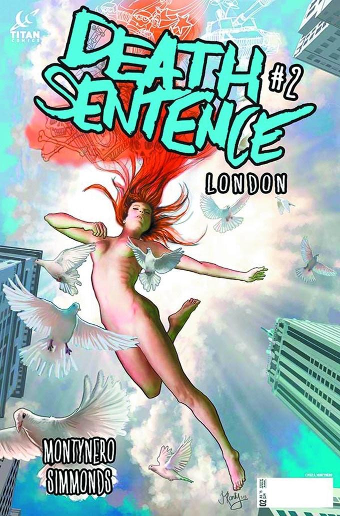 DEATH SENTENCE: LONDON by Monty Nero & Martin Simmonds