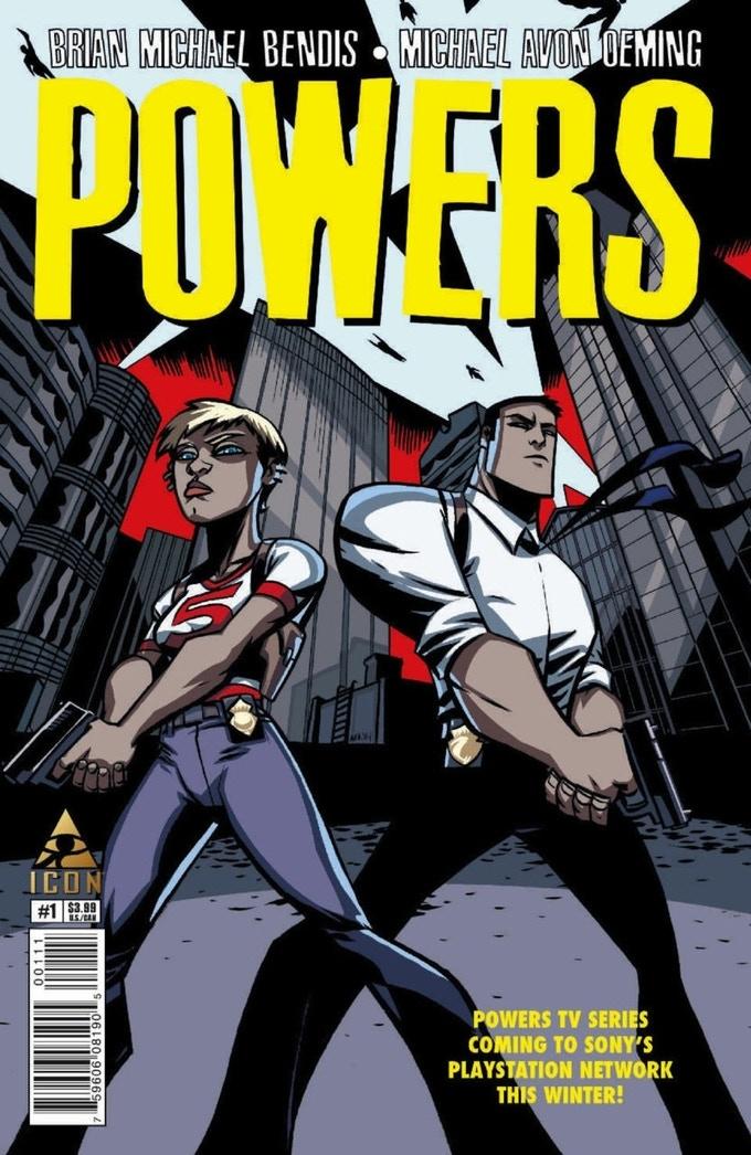 POWERS by Michael Avon Oeming & Brian Michael Bendis