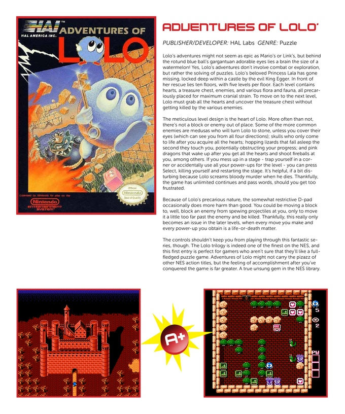 Certain influential games will receive their own page