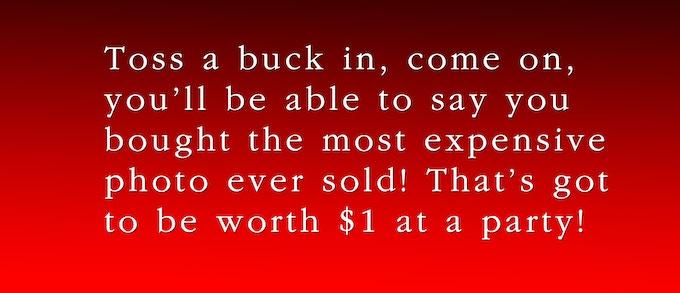 Toss in a buck!