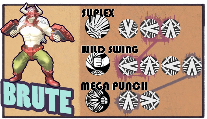 Brutes are big, powerful, and can even move opponents around the field to keep friends out of harm's way.