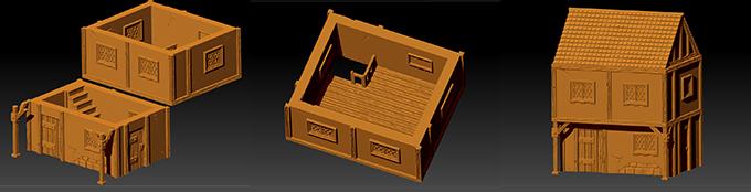real 3d fantasy printable scenery for rpgs and wargames by via ludibunda kickstarter. Black Bedroom Furniture Sets. Home Design Ideas