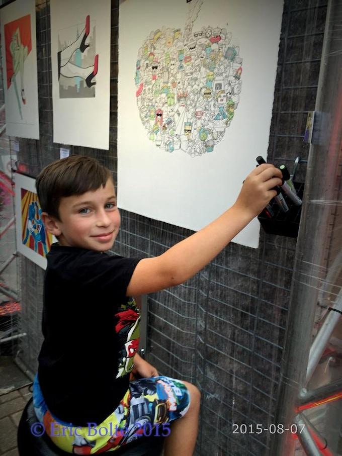 Kids enjoyed it too. Photo: Eric Bolte