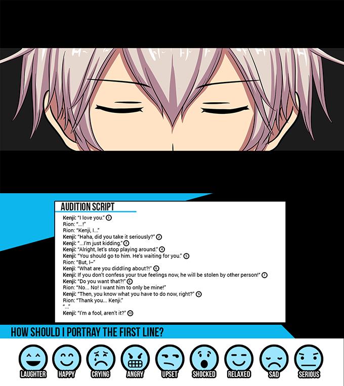 Seiyuu Danshi: English BL / Yaoi Dating Sim / Visual Novel
