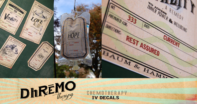 """Dhremo : pronounced """"Dream-oh"""" (rhymes with Chemo)"""