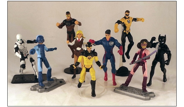 Get Our Figures or A Figure of YOU or a character YOU'VE created to be featured in our universe!!!