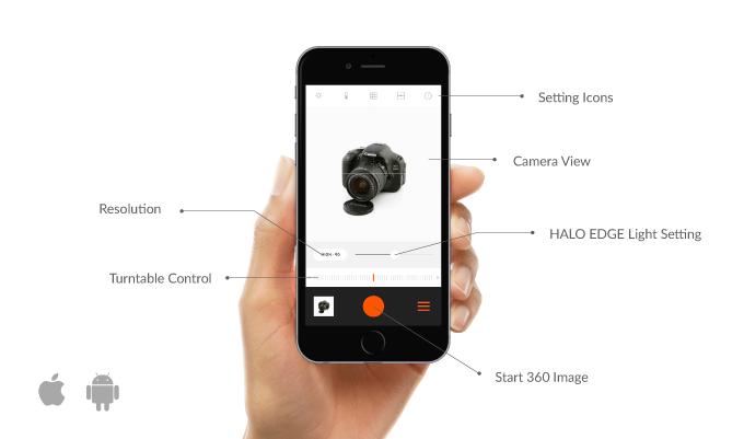 Foldio360 app