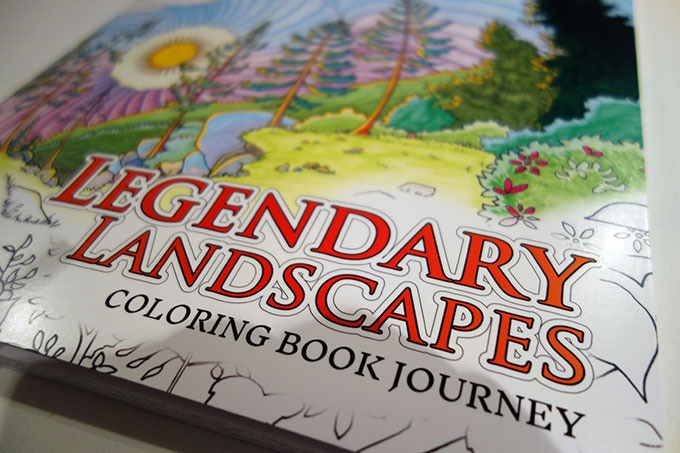 Legendary Landscapes Was Our First Adult Coloring Book Published In November 2015 And Funded Through Kickstarter The Highly Acclaimed By