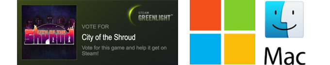 Remember to vote for us on Steam Greenlight!