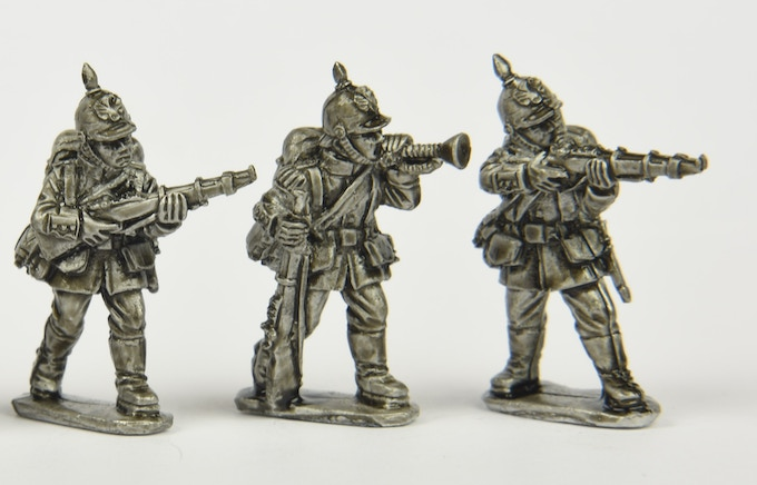 Imperial German Army Infantry (1890 -1908) from packs IAG01-03