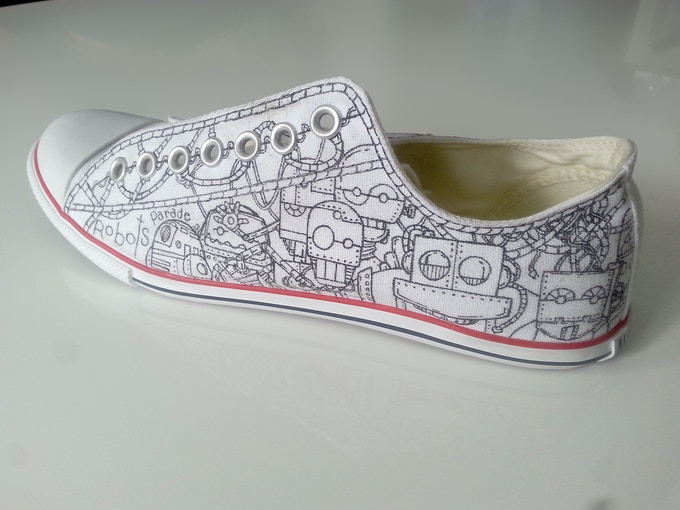 Shoes to color!