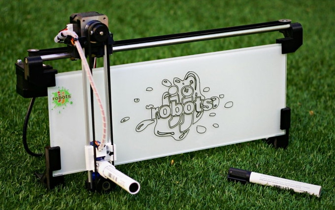 Kickstarters,we proudly present: the iBoardbot!