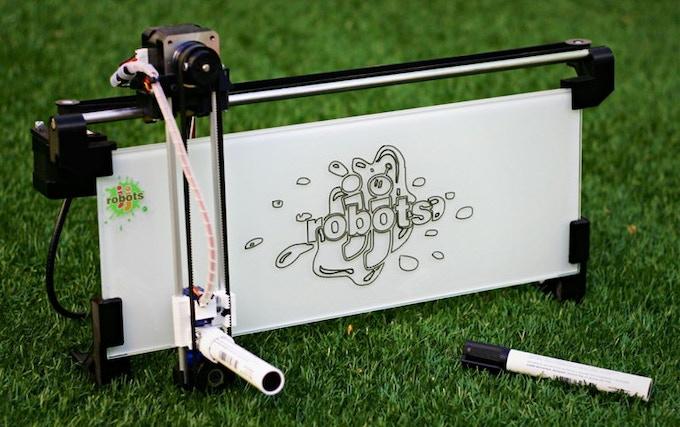 Kickstarters,we proudly present: the iBoardbot!