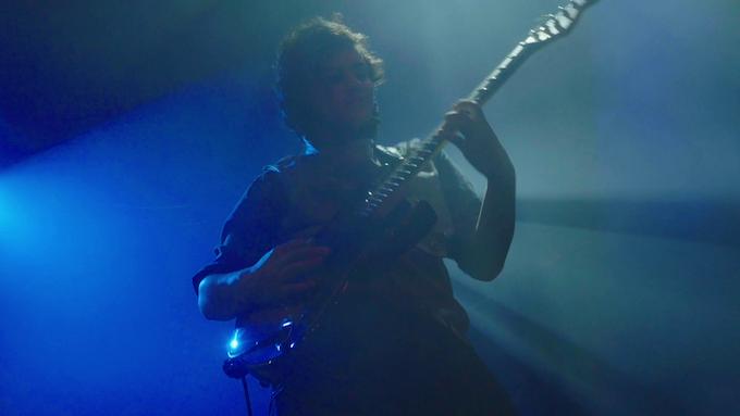 Jordan's guitar solo