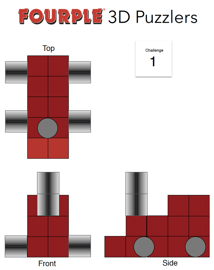 A 3D Puzzle Challenge for your students is one way of using Fourple to bring STEAM into your classroom.