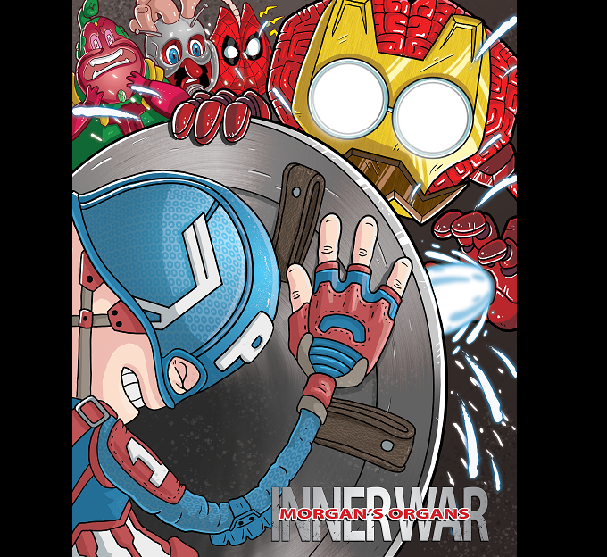 """Poster inspired by the upcoming film """"Captain America: Civil War"""""""