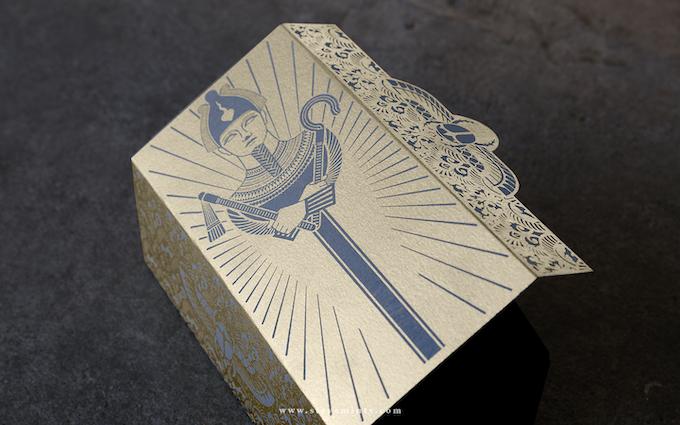 Osiris Sarcophagus Brick Box