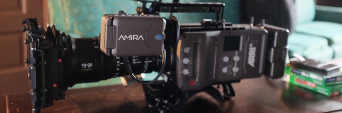 Weapon of choice. ARRI's Amira shot four out of five Oscar best pictures.