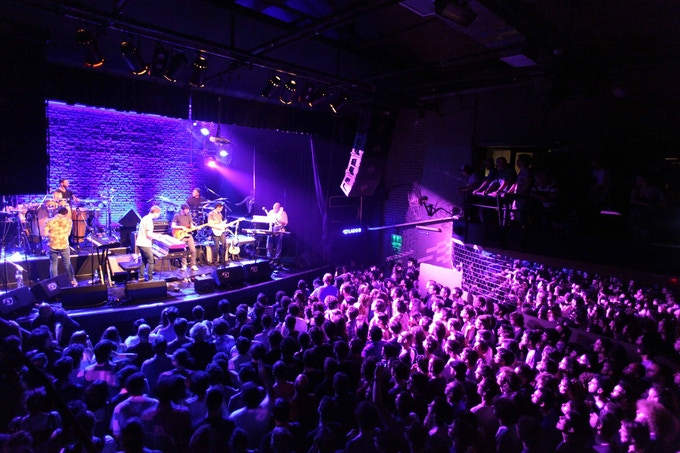 Playing in Buenos Aires with Snarky Puppy