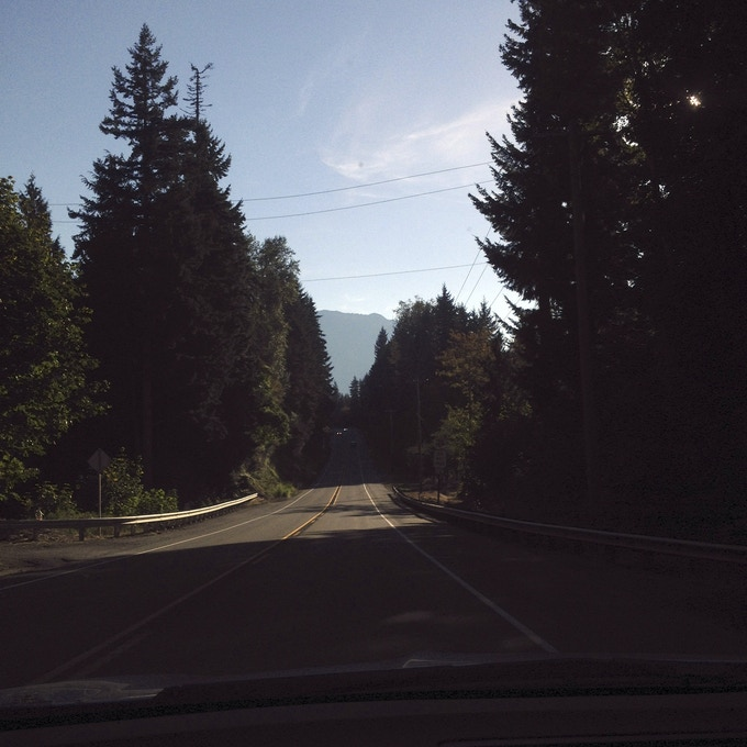 Example of on-the-road pictures you will receive as a backer