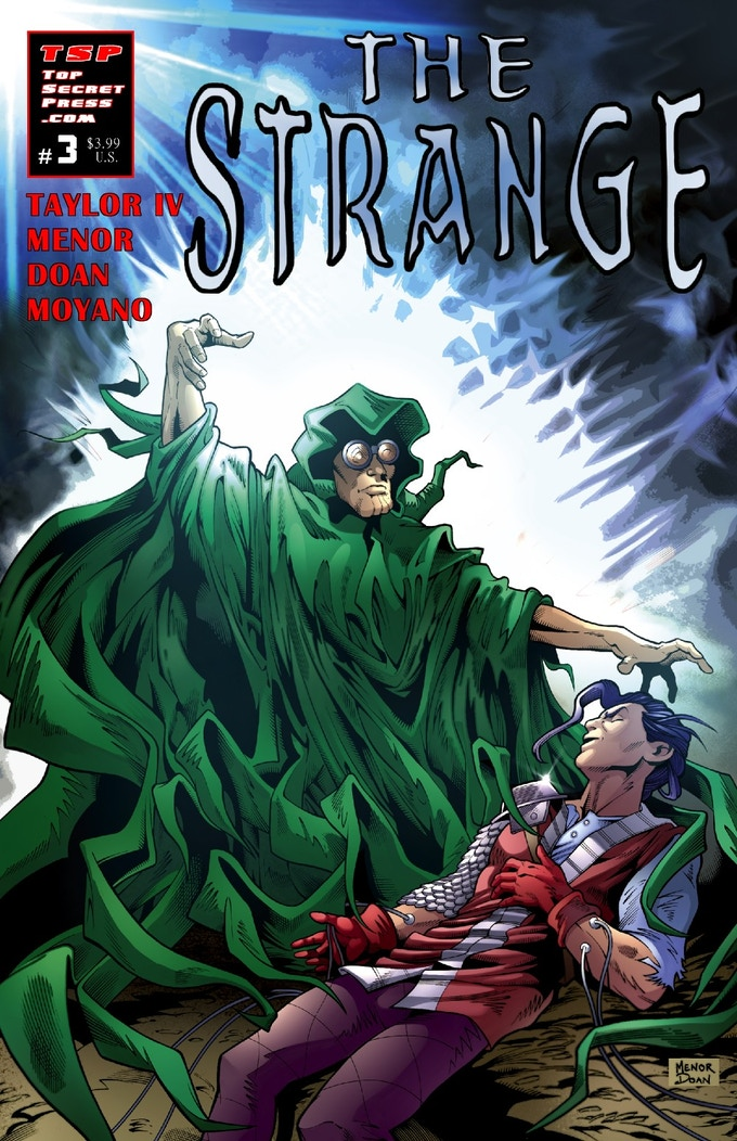 The Strange #03, Cover A