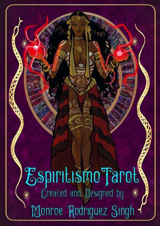 Espiritismo / Vudu Tarot Art Cards