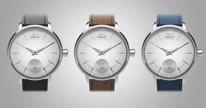 White dial with strap options