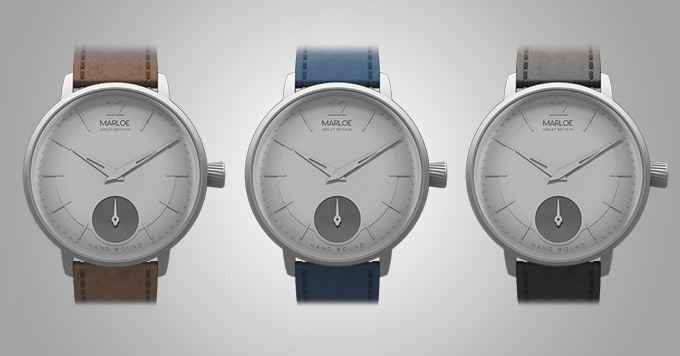 Grey dial with strap options