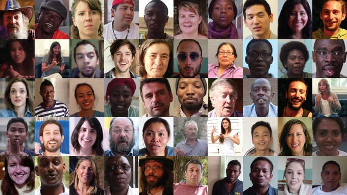 Some of the amazing people we've recorded so far. Together they speak nearly 50 languages, representing 33 countries and every continent.