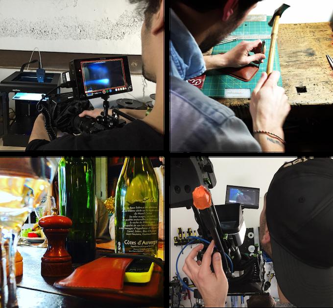 Preparing our videoclip