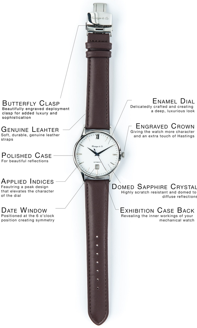 b61afd6ad Hastings & Co | Minimalist Watch, Mechanical Sophistication on ...