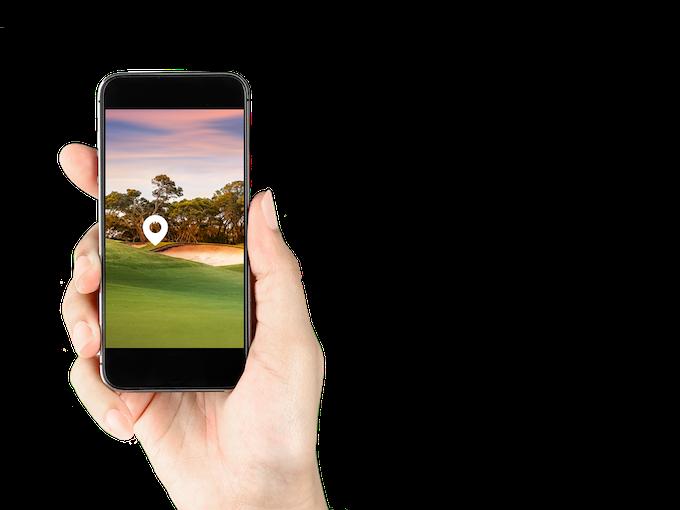 Ball position through Augmented Reality