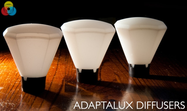 The finished Adaptalux Diffusers, grades 1 to 3.