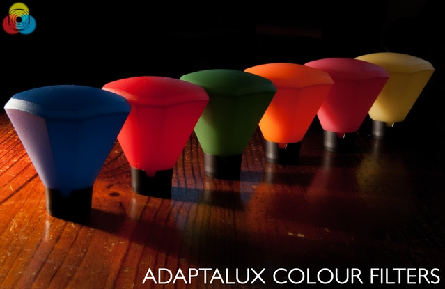 Finished Adaptalux Colour Filters