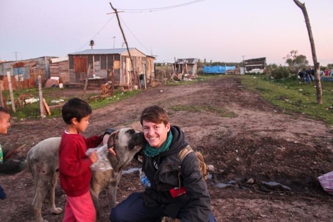 Las Chacritas, un bidonville ou je vivais en Argentine. Je passe beaucoup de temps dans ces villes improvisées pour y valoriser les humains et non pas les slum-people