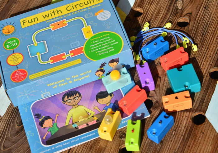 Want to introduce kids (5 and above) to electronic circuits in a fun and simple way? Welcome to the world of Ohm and Ampere.