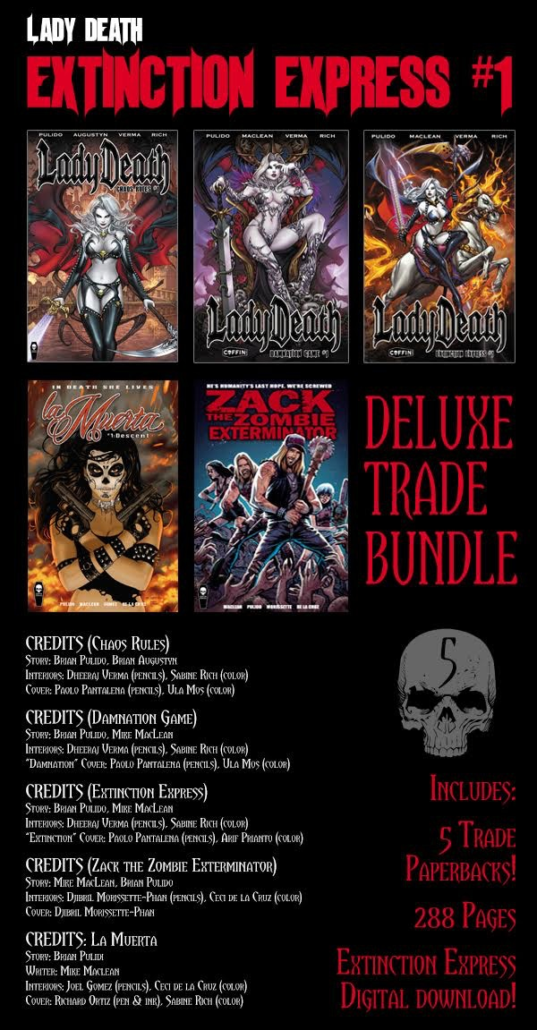 COMPLETE COFFIN SOFTCOVER BUNDLE ($90 PLEDGE)