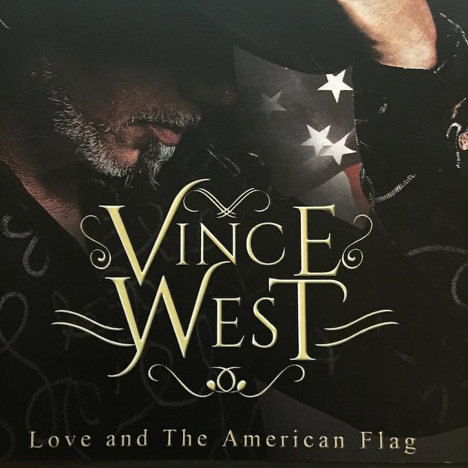 CD: LOVE & THE AMERICAN FLAG