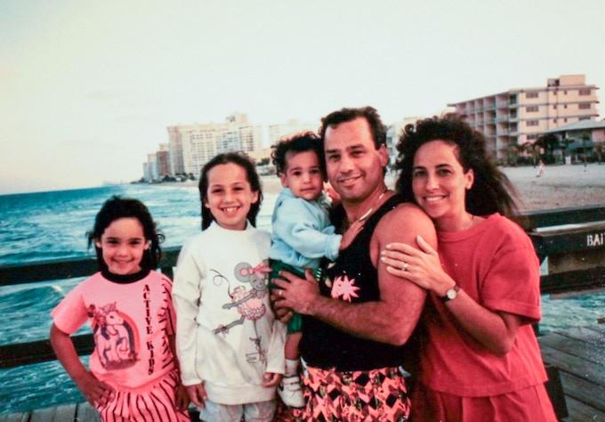 The Borowick family, circa 1989