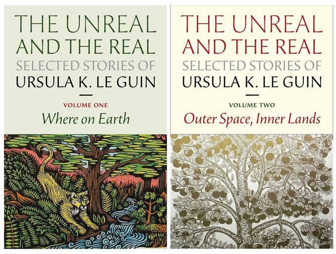 At $350, you get a signed two-volume set of Le Guin's short story collection, selected by the author!