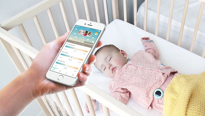 'allb', a smart wearable device for infants.