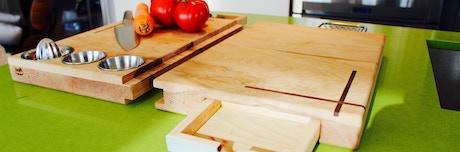 The Ultimate Cutting Board By Michael Motamedi Kickstarter