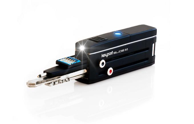 Keyport Slide 4-Port w/Optional Bluetooth Locator/LED Module