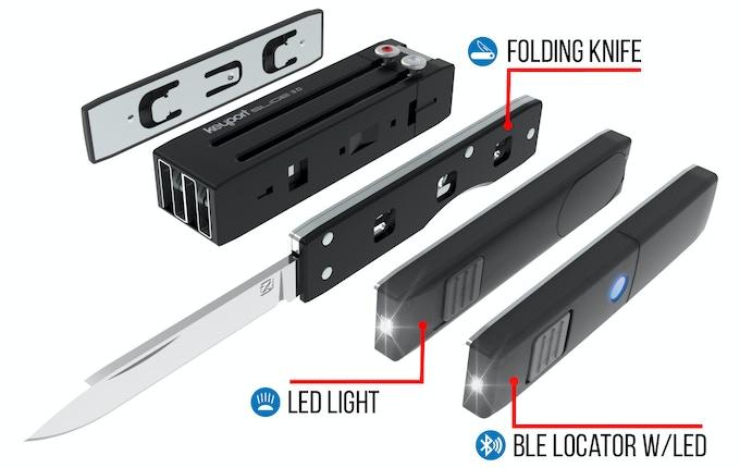 Keyport Slide 3.0 w/optional Modules - 3D Render