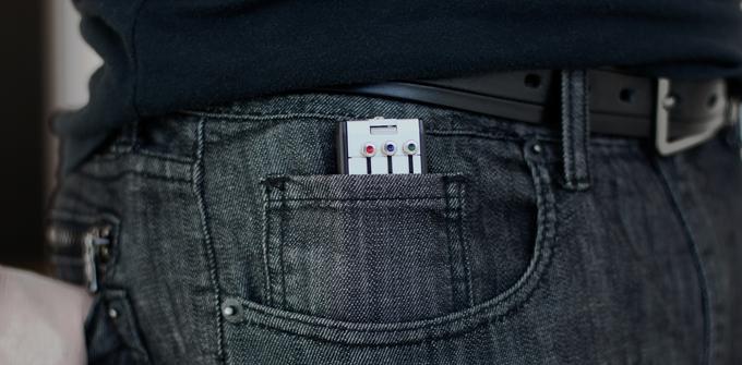 Keyport Slide 3.0 6-Port in the Keyport Pocket - It's that small