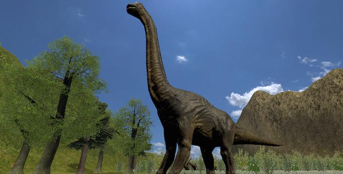 Explore the beauty of Jurassic Island