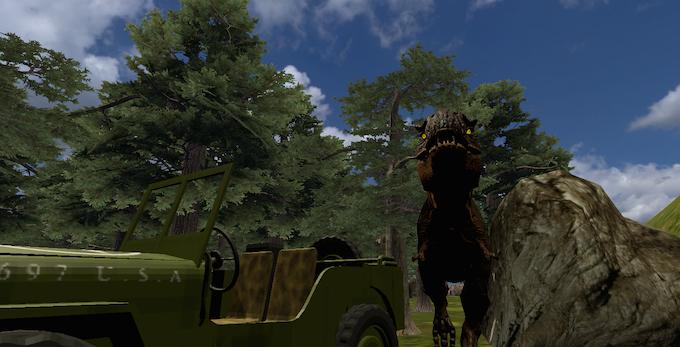 VR Jurassic Island Alpha On Windows Store!