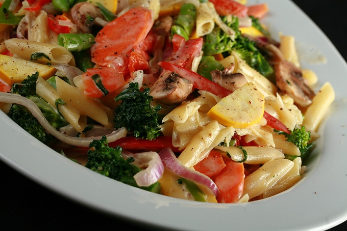 The best Pasta Primavera you'll ever have. No hyperbole, either!